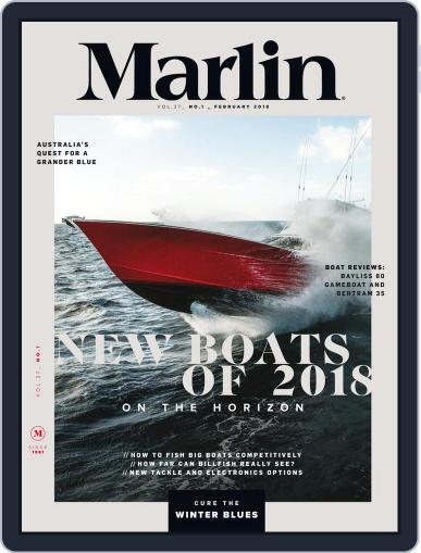 Marlin (Digital) February 1st, 2018 Issue Cover