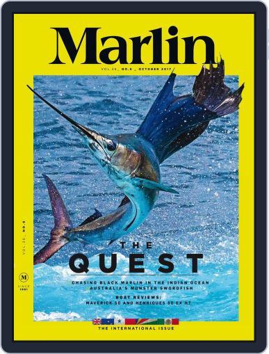 Marlin (Digital) October 1st, 2017 Issue Cover