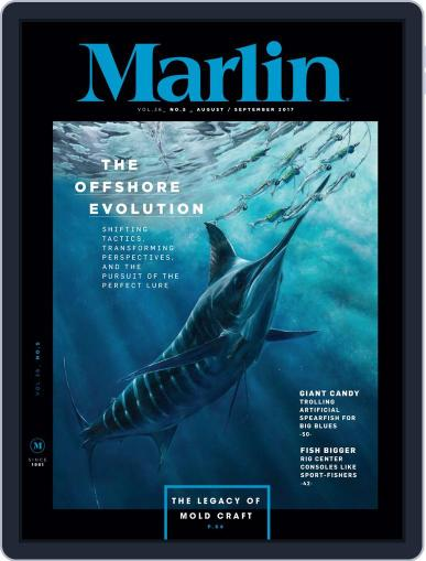 Marlin (Digital) August 1st, 2017 Issue Cover