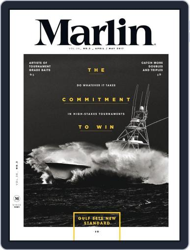 Marlin April 1st, 2017 Digital Back Issue Cover
