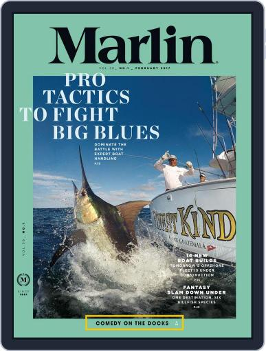 Marlin February 1st, 2017 Digital Back Issue Cover