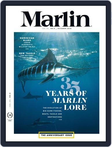 Marlin October 1st, 2016 Digital Back Issue Cover