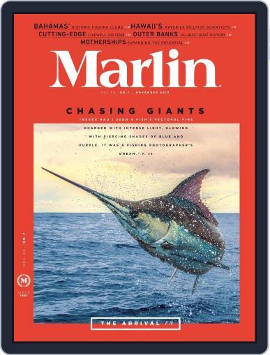 Marlin (Digital) October 31st, 2015 Issue Cover