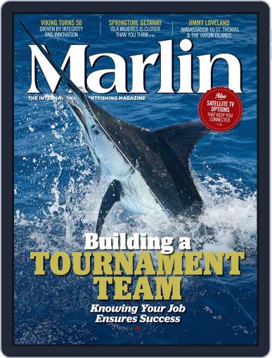Marlin March 15th, 2014 Digital Back Issue Cover