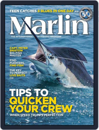 Marlin May 12th, 2012 Digital Back Issue Cover