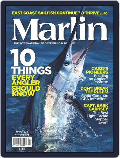 Marlin (Digital) February 19th, 2011 Issue Cover
