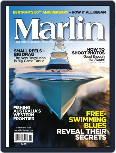 Marlin (Digital) January 15th, 2011 Issue Cover