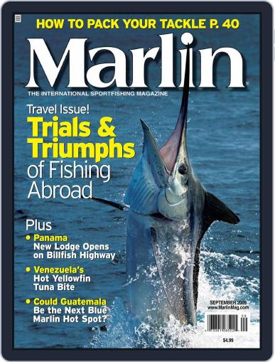 Marlin July 18th, 2009 Digital Back Issue Cover