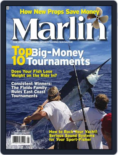 Marlin March 28th, 2009 Digital Back Issue Cover