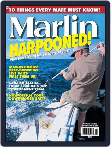 Marlin (Digital) October 20th, 2008 Issue Cover