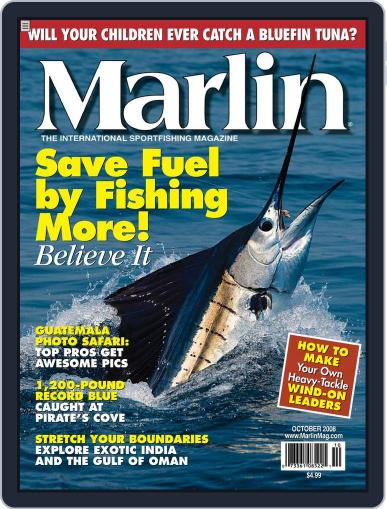 Marlin (Digital) September 20th, 2008 Issue Cover