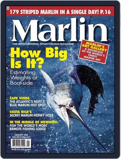 Marlin (Digital) December 1st, 2007 Issue Cover