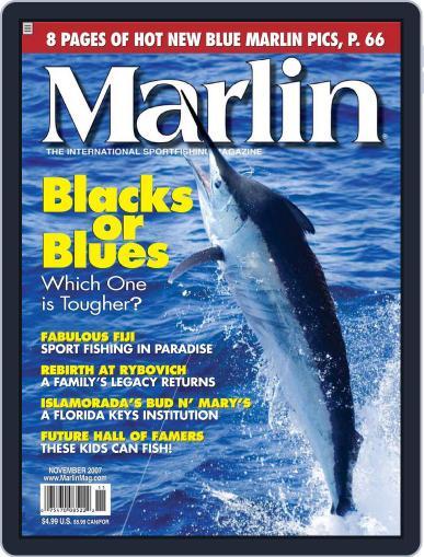 Marlin (Digital) October 20th, 2007 Issue Cover