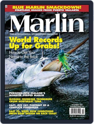 Marlin (Digital) September 15th, 2007 Issue Cover