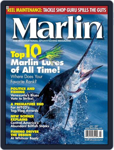 Marlin May 26th, 2007 Digital Back Issue Cover