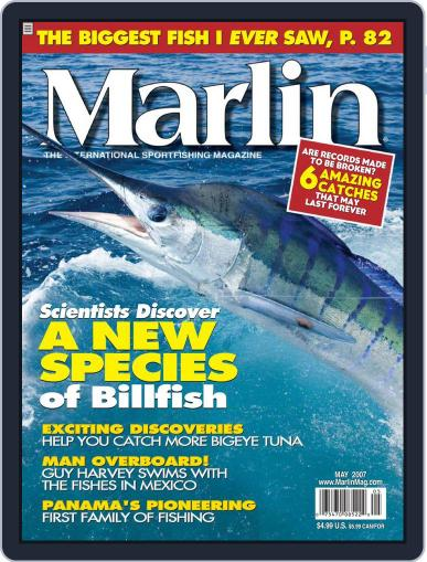 Marlin (Digital) April 3rd, 2007 Issue Cover