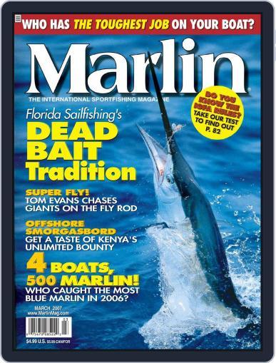 Marlin (Digital) February 24th, 2007 Issue Cover