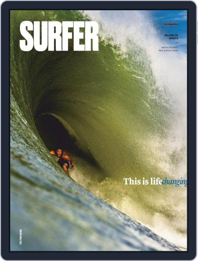 Surfer (Digital) October 1st, 2018 Issue Cover
