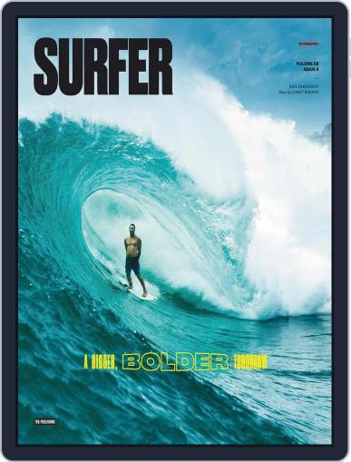 Surfer (Digital) August 1st, 2018 Issue Cover