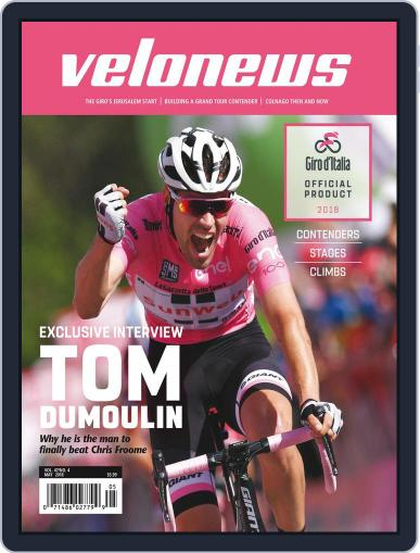 Velonews May 1st, 2018 Digital Back Issue Cover