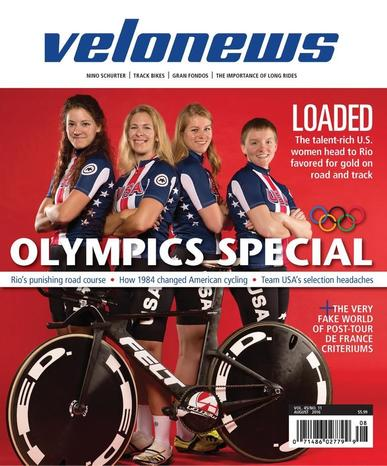 Velonews Magazine (Digital) August 2nd, 2016 Issue Cover