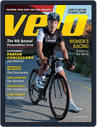 Velonews January 1st, 2015 Digital Back Issue Cover