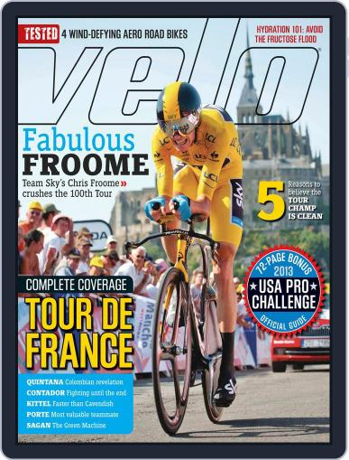 Velonews Magazine (Digital) August 22nd, 2013 Issue Cover