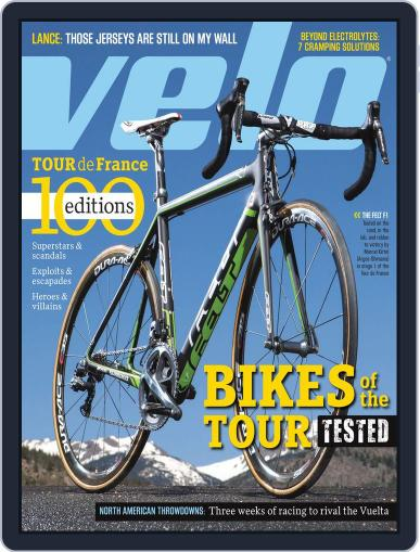 Velonews Magazine (Digital) July 16th, 2013 Issue Cover