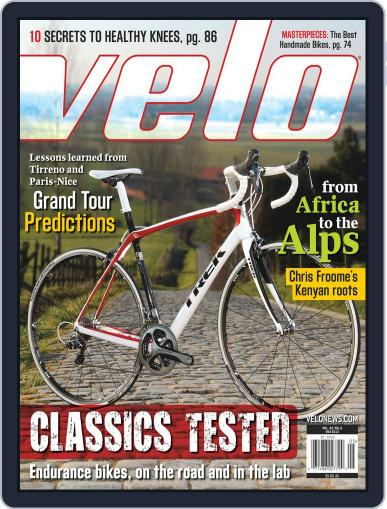 Velonews Magazine (Digital) March 28th, 2013 Issue Cover