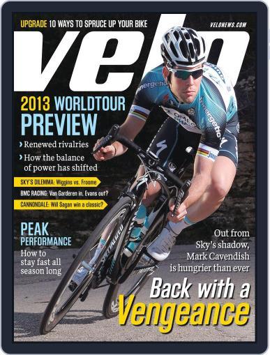 Velonews Magazine (Digital) February 21st, 2013 Issue Cover