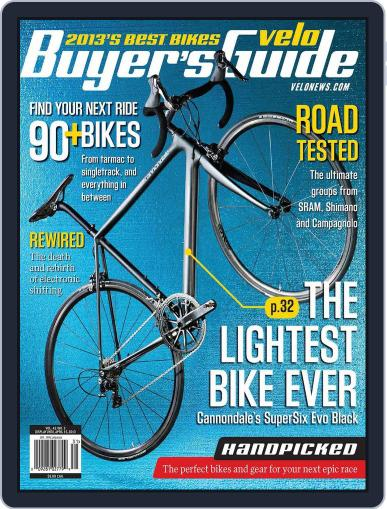 Velonews January 10th, 2013 Digital Back Issue Cover