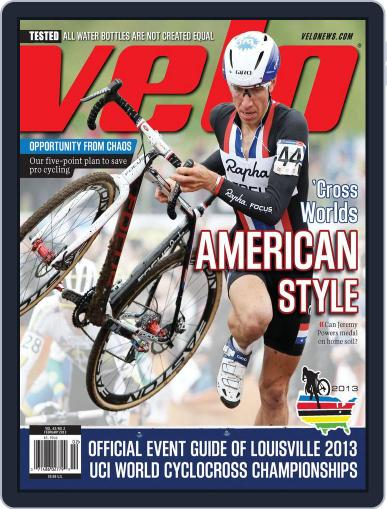 Velonews December 27th, 2012 Digital Back Issue Cover