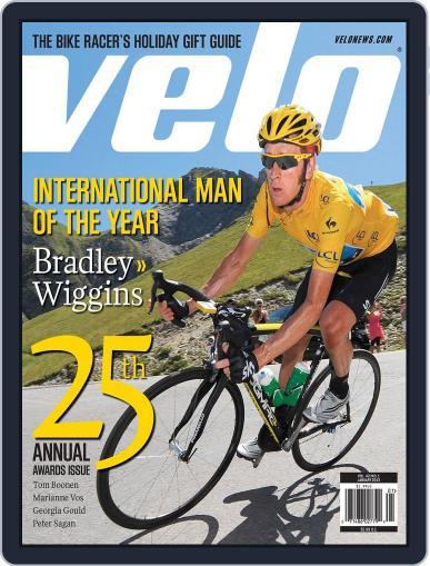 Velonews Magazine (Digital) December 6th, 2012 Issue Cover