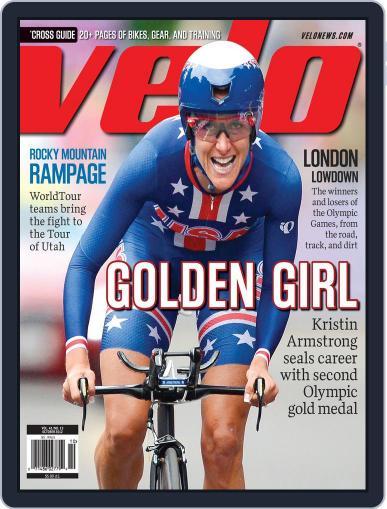 Velonews Magazine (Digital) September 13th, 2012 Issue Cover