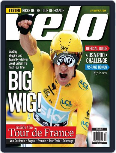 Velonews August 16th, 2012 Digital Back Issue Cover