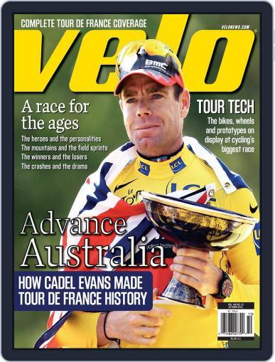Velonews Magazine (Digital) September 20th, 2011 Issue Cover