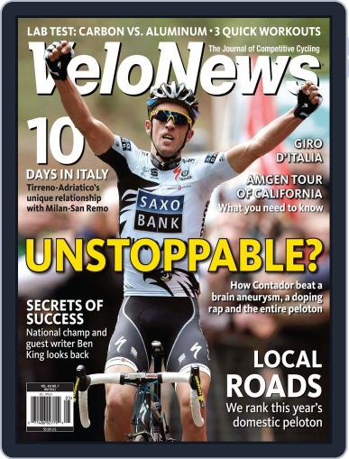 Velonews Magazine (Digital) July 19th, 2011 Issue Cover