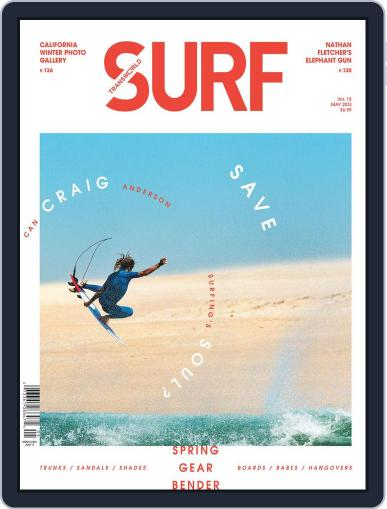 Transworld Surf (Digital) March 16th, 2013 Issue Cover