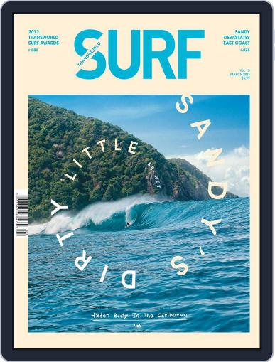 Transworld Surf January 22nd, 2013 Digital Back Issue Cover