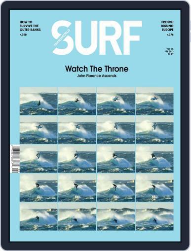 Transworld Surf December 4th, 2012 Digital Back Issue Cover