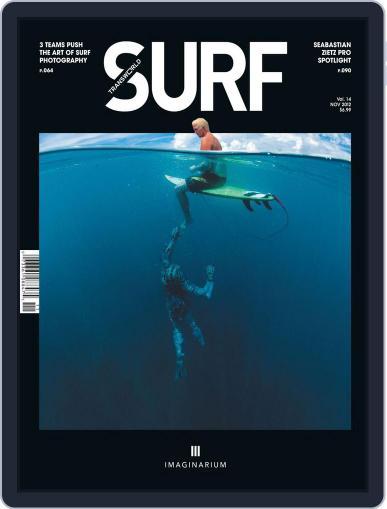 Transworld Surf (Digital) September 8th, 2012 Issue Cover