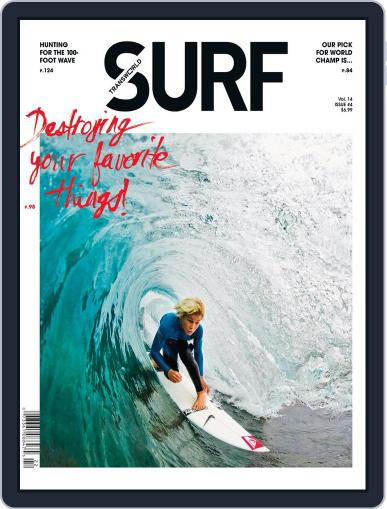 Transworld Surf (Digital) March 23rd, 2012 Issue Cover