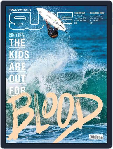 Transworld Surf (Digital) December 31st, 2011 Issue Cover