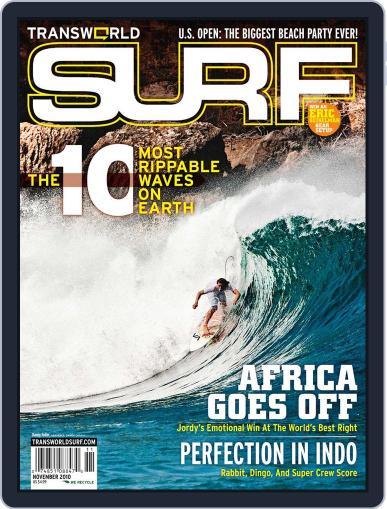 Transworld Surf (Digital) September 11th, 2010 Issue Cover