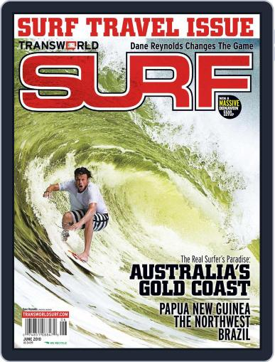 Transworld Surf (Digital) April 3rd, 2010 Issue Cover