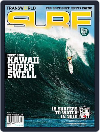 Transworld Surf (Digital) January 8th, 2010 Issue Cover