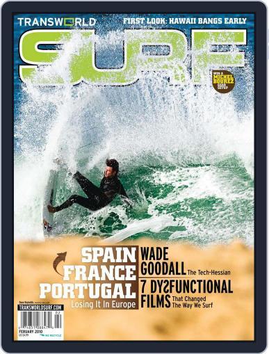 Transworld Surf December 12th, 2009 Digital Back Issue Cover