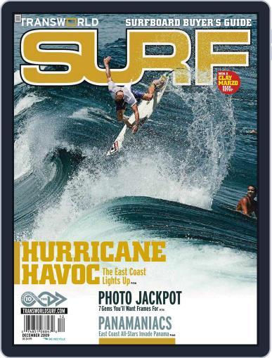 Transworld Surf (Digital) December 1st, 2009 Issue Cover