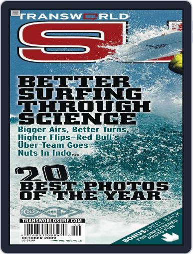 Transworld Surf (Digital) October 1st, 2009 Issue Cover