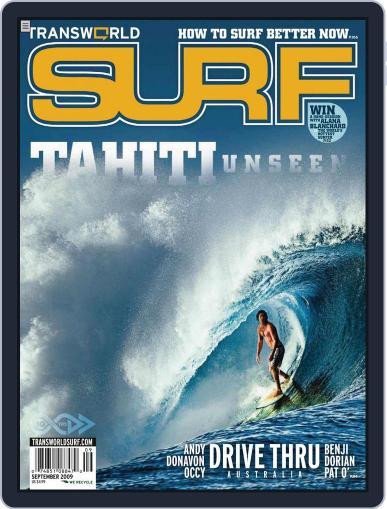 Transworld Surf (Digital) September 1st, 2009 Issue Cover